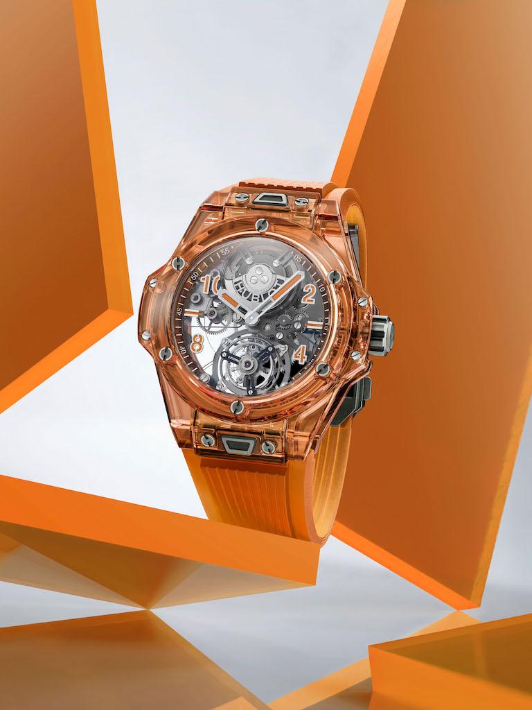 Hublot LVMH Watch Week - Hublot Big Bang Tourbillon Automatic Orange Sapphire