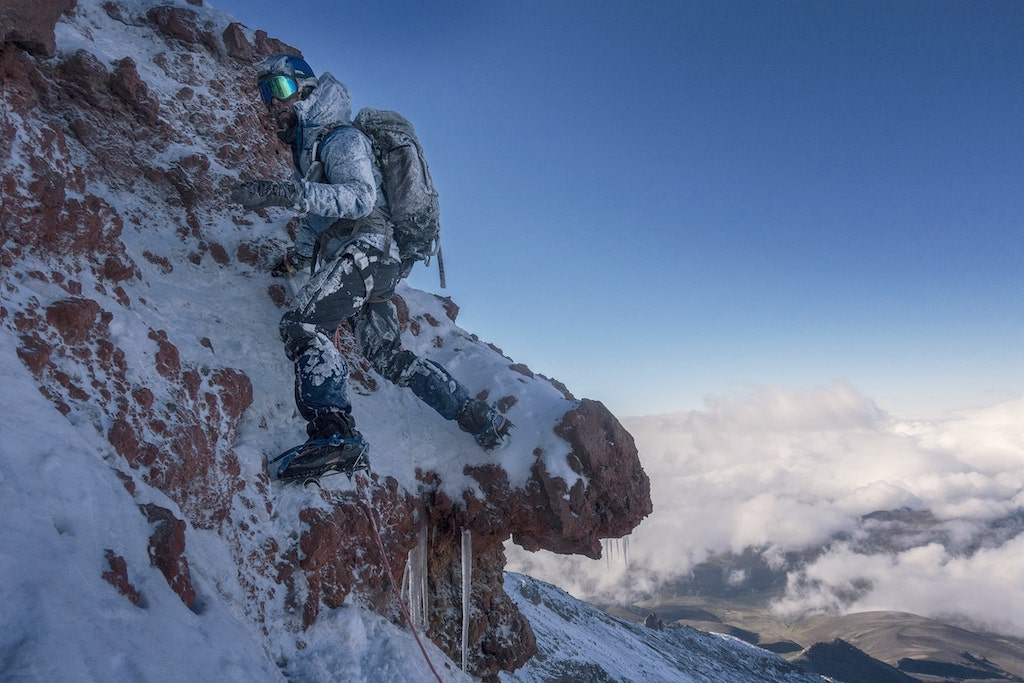 Klaus Thymann Climbing