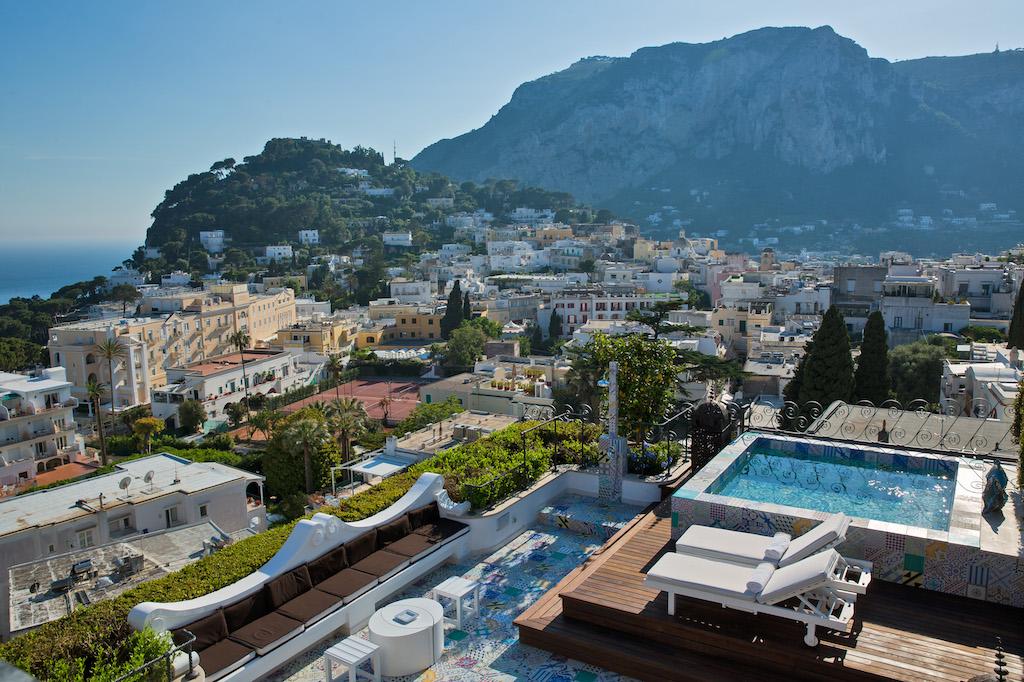 Capri Tiberio Palace Hotel Amalfi Coast