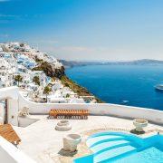 Santorini View Greece Island