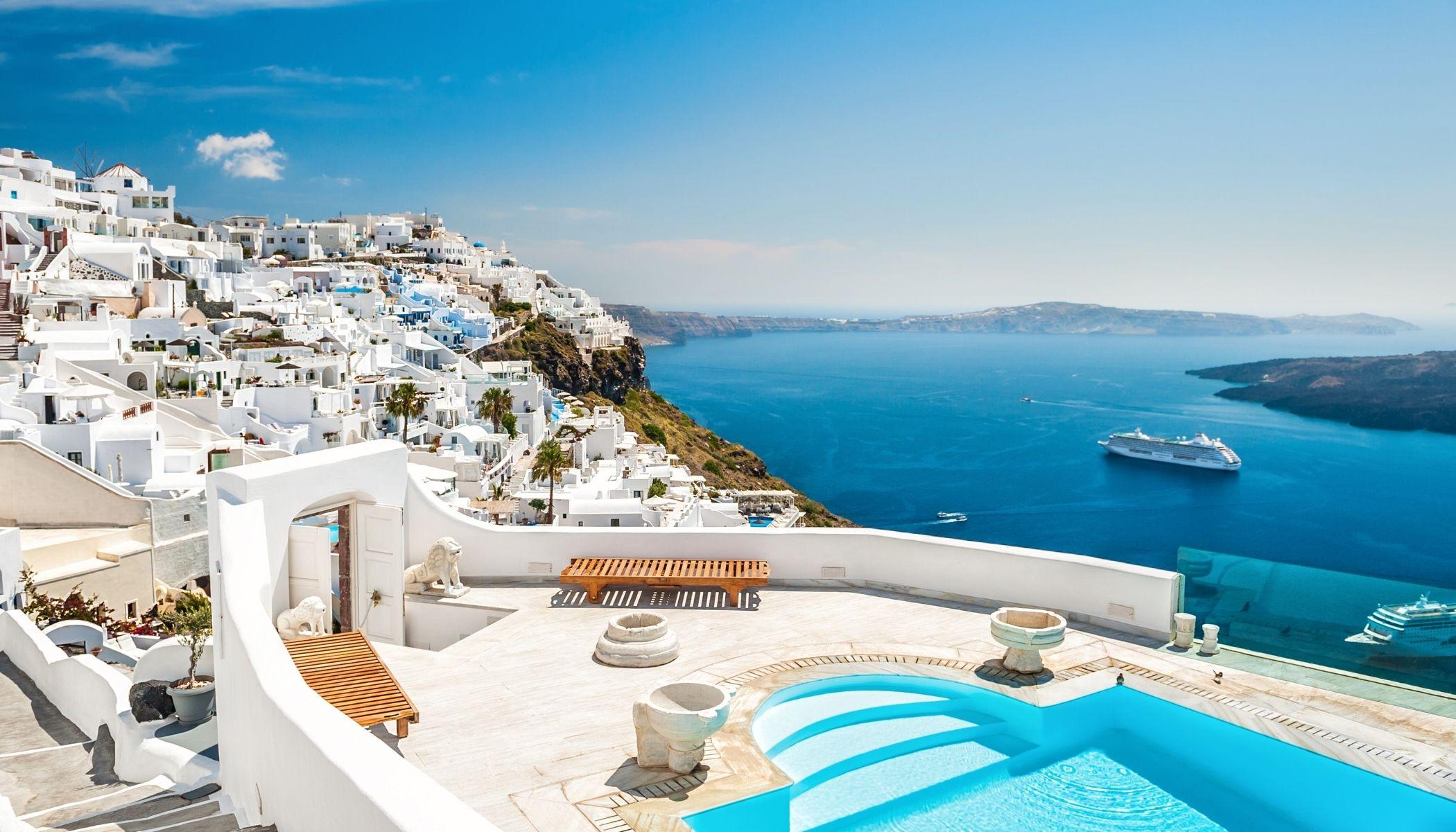 Santorini Hotels 20 atemberaubende Orte   NoSt Travel